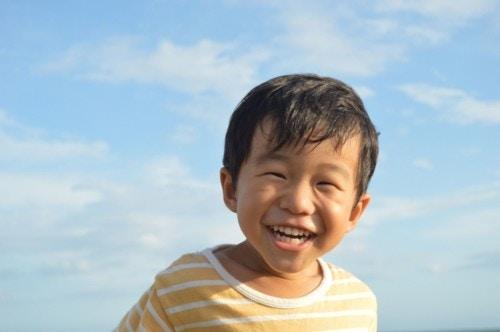 男の子 元気 日本