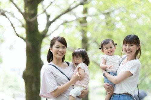 公園 赤ちゃん 複数