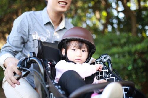自転車 子乗せ パパ
