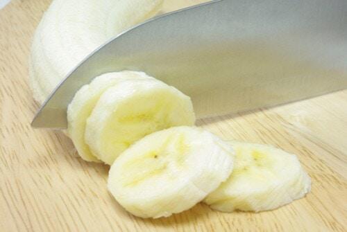 バナナ 輪切り