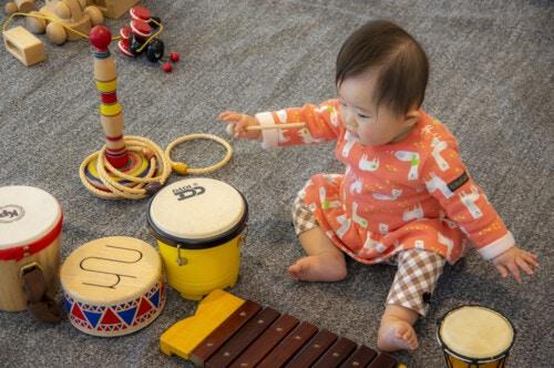 赤ちゃん 太鼓