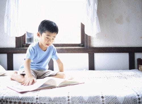 男の子 読書