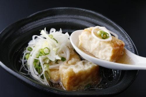 揚出し豆腐